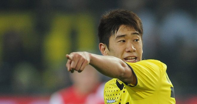 Shinji Kagawa: Looks to be firmly on Sir Alex Ferguson's radar
