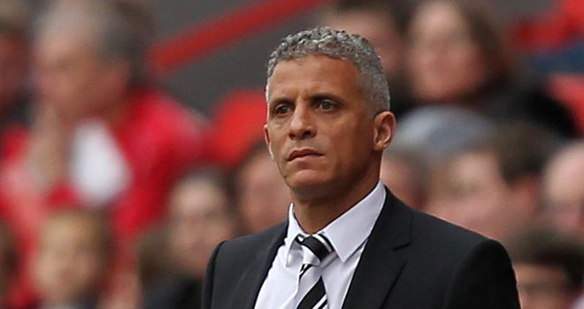 Curle: Full of praise for his side