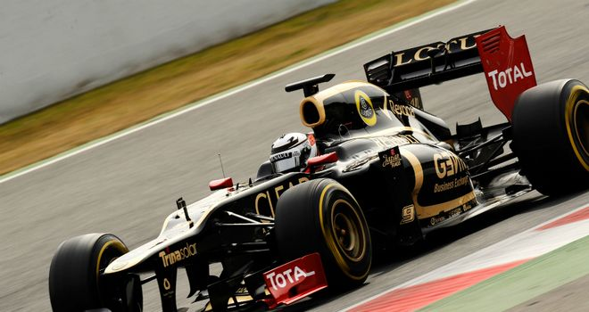 Kimi Raikkonen returns to F1 for Lotus this year