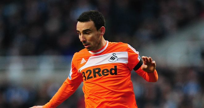 Leon Britton: Admits this season has been an 'incredible' one for Swansea but is desperate for one more win to seal safety