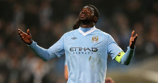 Kolo Toure: Linked with a move to Turkey with Bursaspor, but focused on Man City