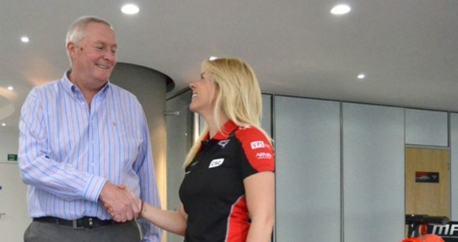 Marussia have named Maria de Villota as their new test driver