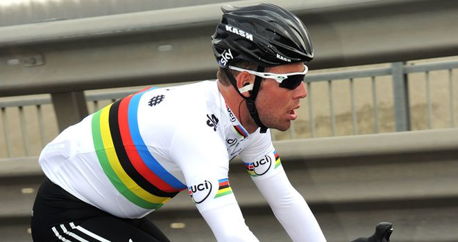 Mark Cavendish: Has completed a dress rehearsal for the Olympic road race