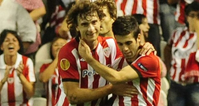 Markel Susaeta: Winning goal for Bilbao