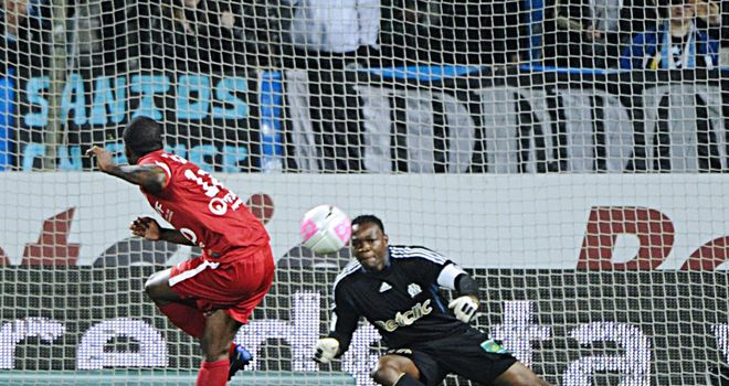 Gael Kakuta: Scoring the winner for Dijon against Marseille, the club he now hopes to join