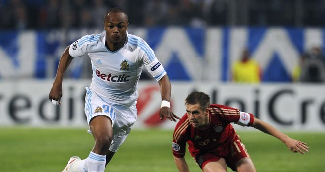 Andre Ayew: Has been linked with big-money moves to some of Europe's top clubs