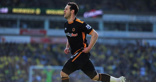 Matt Jarvis: Wolves winger undergoing a medical at West Ham ahead of £10m switch