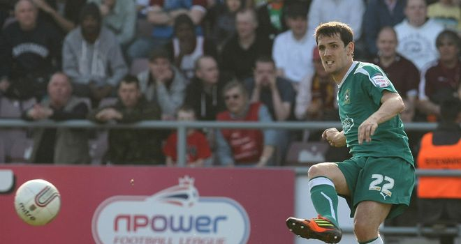 Maxime Blanchard: Hoping to help Plymouth steer clear of trouble and earn himself a new contract
