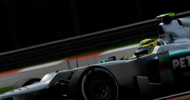 Nico Rosberg: Fastest in final practice in Malaysia