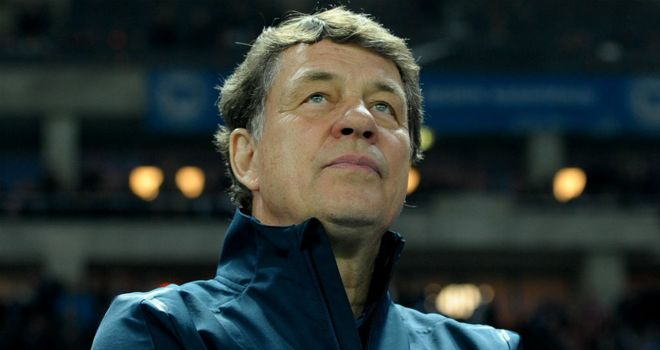 Otto Rehhagel: Has lost three of his four Bundesliga matches in charge of Hertha Berlin