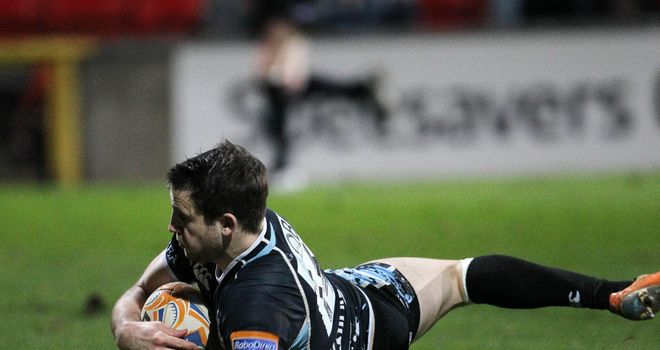 Tommy Seymour: Second half double for Glasgow