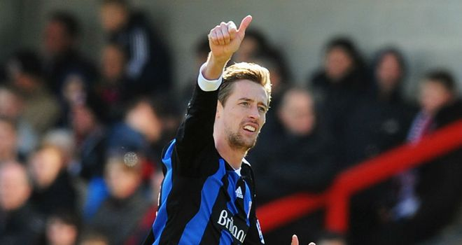 Peter Crouch: Tony Pulis believes striker can make England's Euro 2012 squad