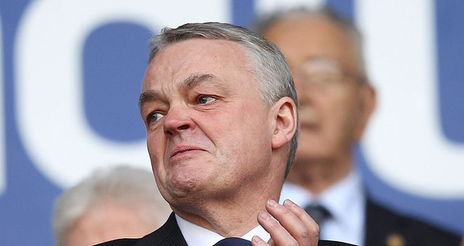Phil Gartside: Committed to club's finances