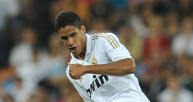 Raphael Varane: Coy on chances of making Laurent Blanc's Euro 2012 squad
