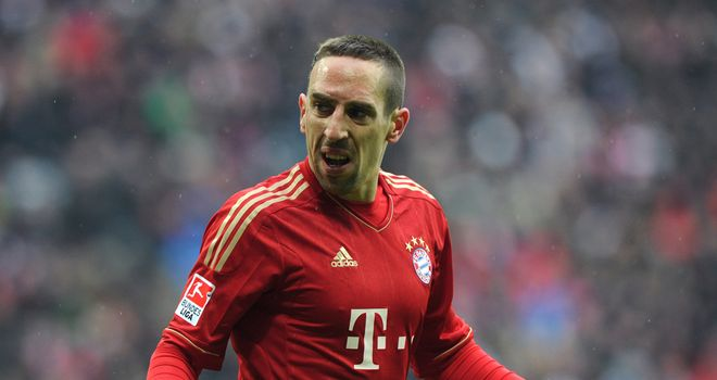 Franck Ribery: Hoping to guide Bayern Munich past Marseille and into the Champions League semi-finals