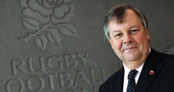 RFU's Ian Ritchie: Not concerned by loss in World Cup year