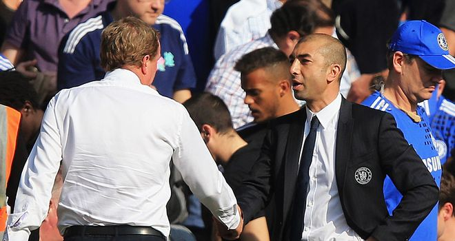 Harry Redknapp & Roberto Di Matteo: Setting their sights on silverware