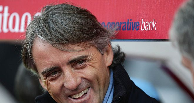 Roberto Mancini: Manchester City manager has laughed off Sir Alex Ferguson's comments, says David Platt