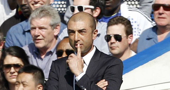 Roberto Di Matteo: Giving no thought to the possibility of becoming Chelsea's next permanent boss