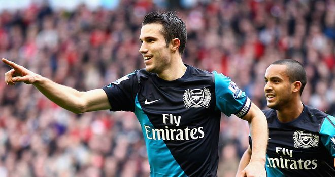 Robin van Persie: Striker says he is yet to hit top form for Arsenal