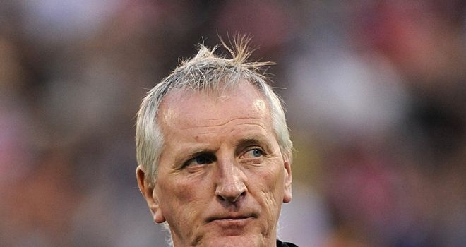 Ronnie Moore: A Little bit short in attack