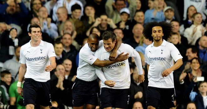Ryan Nelsen: Broke the deadlock and helped to put Spurs on the road to Wembley