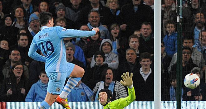 Samir Nasri: Scored City's winner