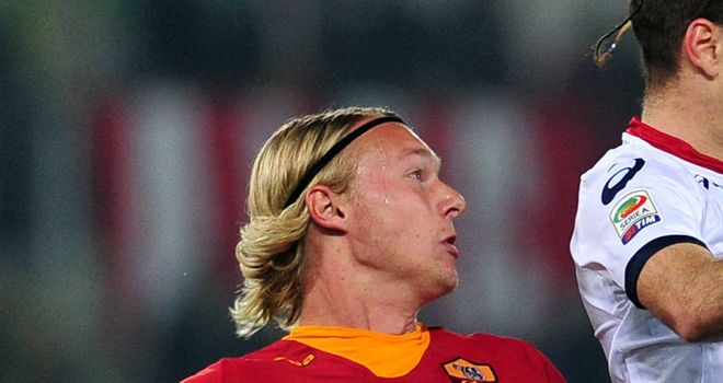 Simon Kjaer: On-loan defender is keen to stay at Roma rather than return to Wolfsburg