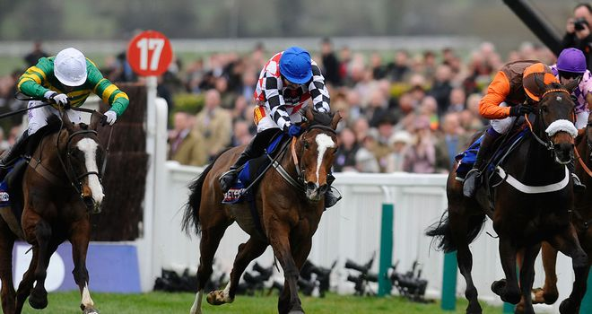 The Giant Bolster (M): Lifetime best at Cheltenham