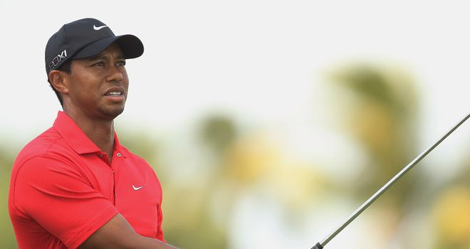 Tiger Woods: American withdrew during final round at Doral with sore Achilles