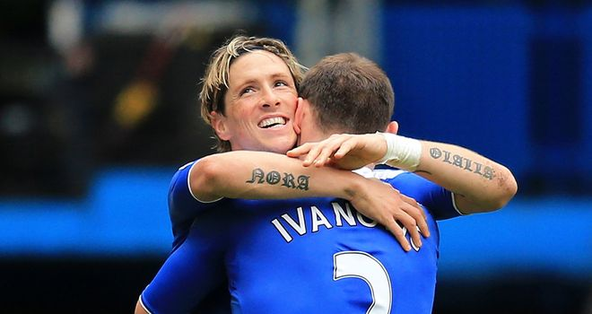 Branislav Ivanovic: Pleased with Fernando Torres