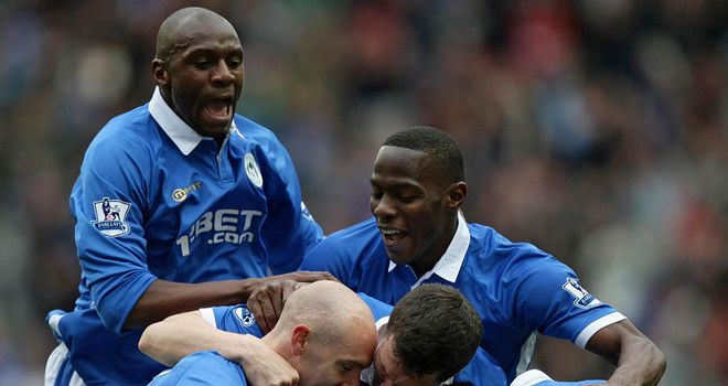 What a shocker! Victor Moses hopes Wigan will have something to celebrate in coming days