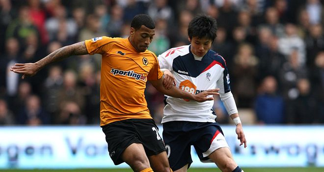 Ryo Miyaichi: The Arsenal man has been an instant hit since joining Bolton on loan