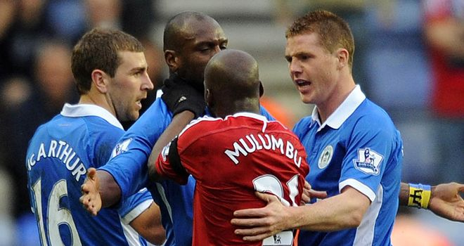 Youssouf Mulumbu: Should have been sent off for his reaction, according to Roberto Martinez