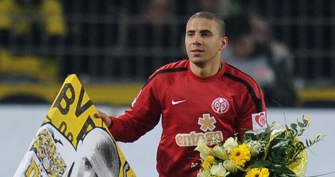 Mohamed Zidan: Appears set to walk away from Mainz for a third time