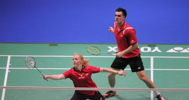 Imogen Bankier and Chris Adcock: The duo competing at the All England Championships