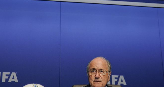Sepp Blatter: Wants tougher action against racist chanting.