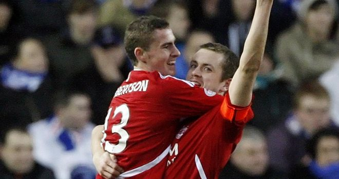 Clark Robertson: New deal at Aberdeen