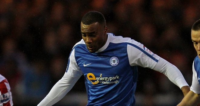 Emile Sinclair: Peterborough striker has emerged as a target for Championship rivals Coventry