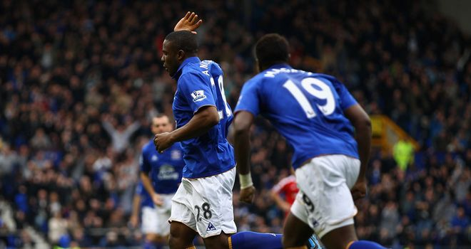 Victor Anichebe: Can't stop his scoring streak against West Brom