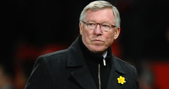 Sir Alex Ferguson: Not happy after another home European defeat for Manchester United