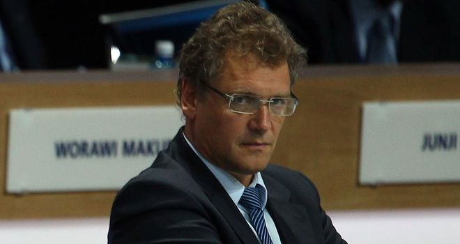 Jerome Valcke: Impressed with developments in Sao Paulo