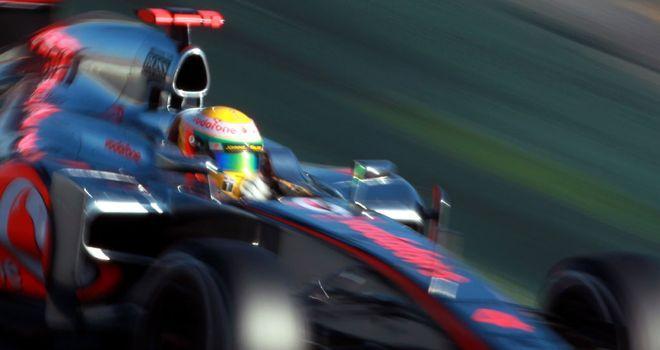 Lewis Hamilton: Didn't chase lap times