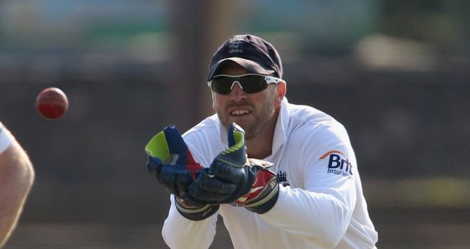 Matt Prior: Sussex gloveman has been feeling the heat in Sri Lanka