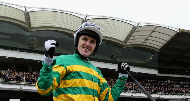 Tony McCoy: Double at Ffos Las
