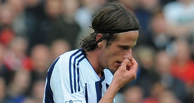 Jonas Olsson: Admits he 'should know better' after Hernandez challenge