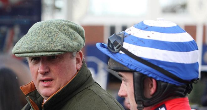 Nicholls and Walsh reflect on Aerial's victory at Newbury