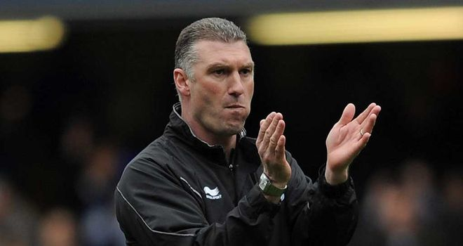 Nigel Pearson: Leicester City manager is pleased his side are still in the play-off hunt after a 2-1 win at Ipswich