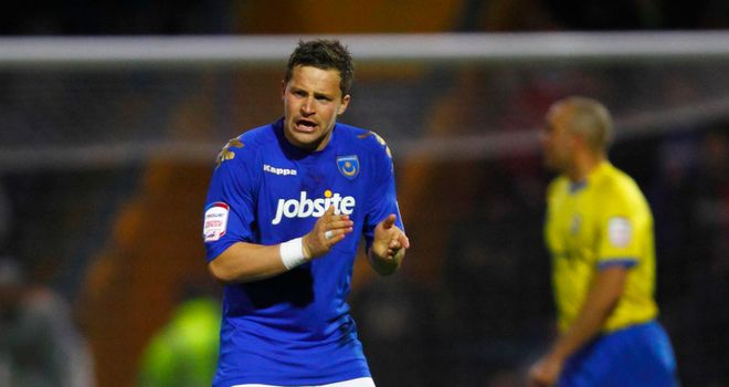 Chris Maguire: A knee injury has denied the striker a second spell with Portsmouth