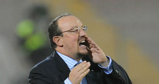 Rafa Benitez: Talks this week broke down with Italian club Sampdoria